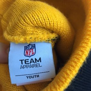 NFL Accessories - Pittsburgh Steelers NFL Hat  Glove Set Youth ad463f172
